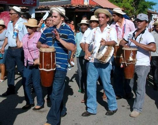 Tamborita en Parade