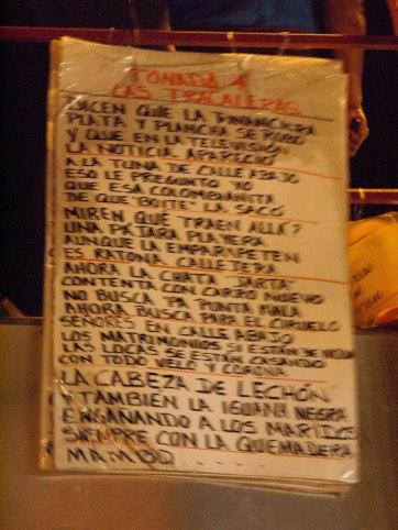 Calle Arriba_Song