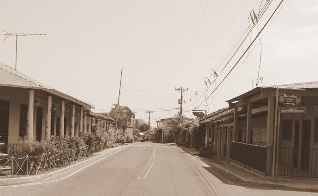 Pedasi - Calle Principa