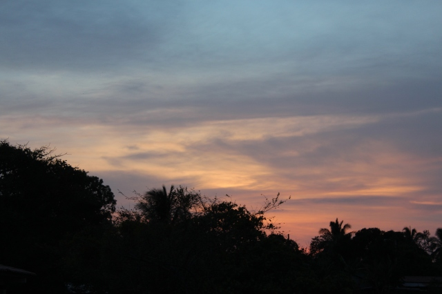 Sunset. 04_03_13