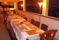 Table before dinner