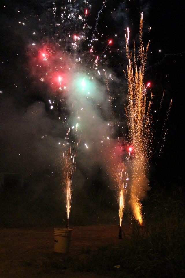 Oh yah!  Fireworks!