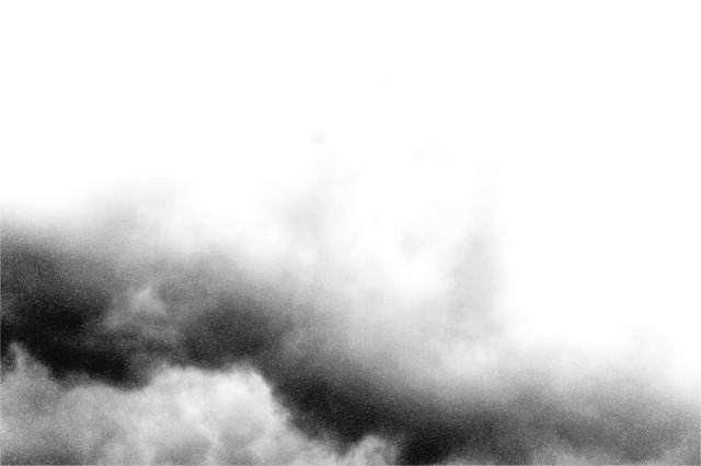 Clouds Black and White
