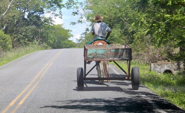 Modern cart.