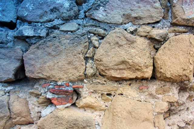 Old house wall Panama Viejo