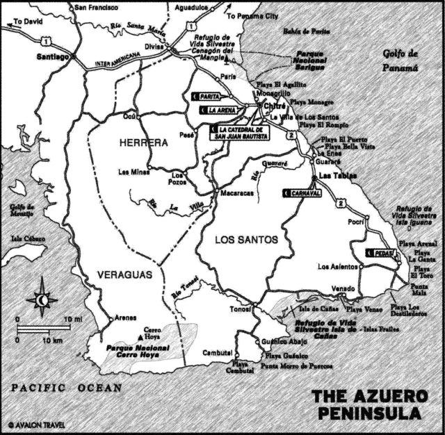 Map of the Azuero_e