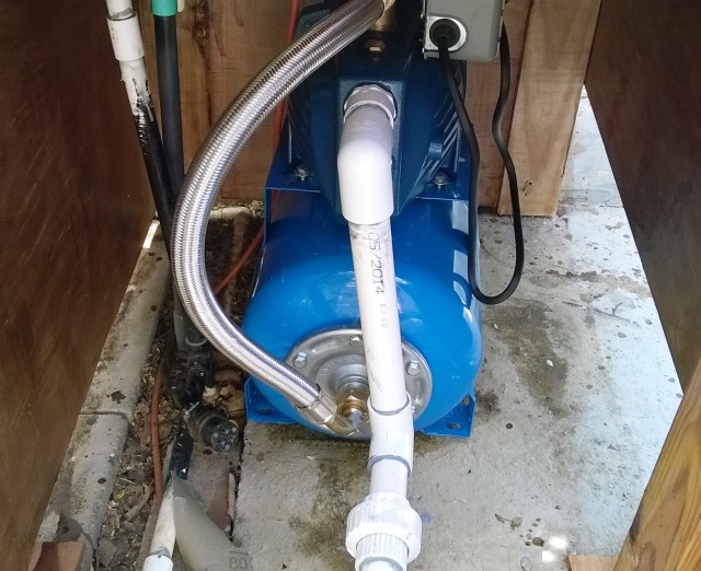New pump.