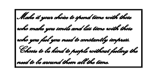 Quote Smile and Kindness
