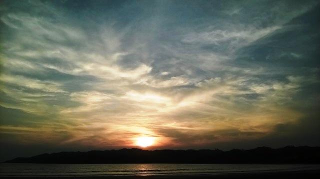 Sunset at Playa Venao, Los Santos, Panama